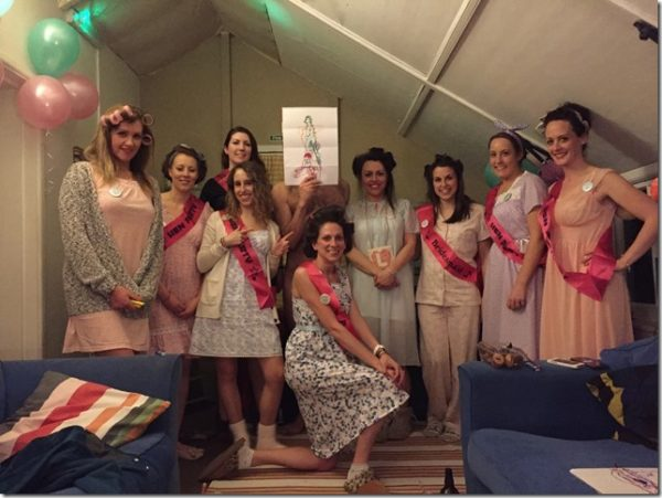 hen party life drawing in Bournemouth