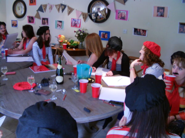 hen party life drawing - an alternative hen party activity
