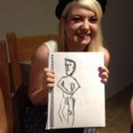 hen party life drawing class in Bath