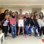 Hen party life drawing class in Somerset