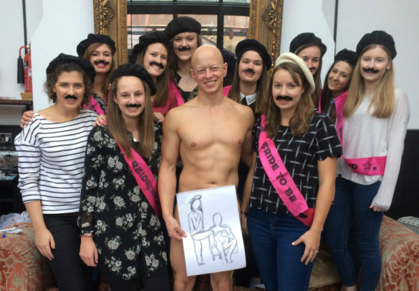 bath hen party activity
