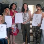 a hen do life drawing class - one of many alternative hen party ideas