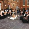 hen party life drawing in Kent