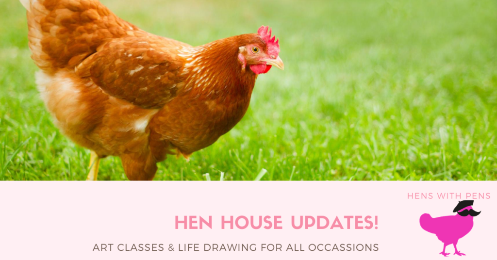 Hens with Pens - Cultured, Chic and a just a little bit Cheeky!
